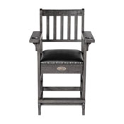 Imperial Premium Spectator Chair with Drawer, Silver Mist