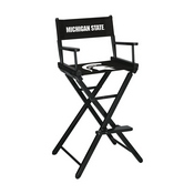 Michigan State Directors Chair-Bar Height
