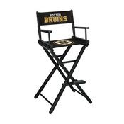 Boston Bruins Bar Height Directors Chair