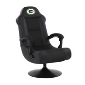 GREEN BAY PACKERS ULTRA GAME CHAIR - BLACK
