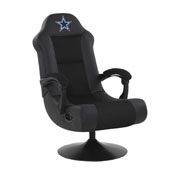 DALLAS COWBOYS ULTRA GAME CHAIR - BLACK