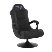 NEW ENGLAND PATRIOTS ULTRA GAME CHAIR - BLACK