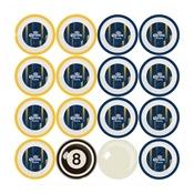 Corona Billiard Ball Set