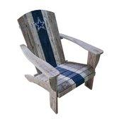 Dallas Cowboys Wood Adirondack Chair
