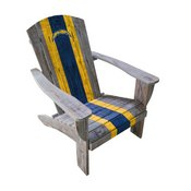 Los Angeles Chargers Wood Adirondack Chair