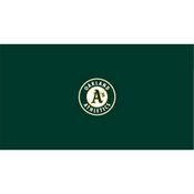 Oakland Athletics 8' Pool Table Cloth