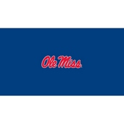 University of Mississippi 8' Pool Table Cloth