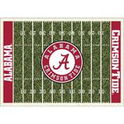 University Of Alabama Homefield Rug