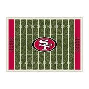 San Francisco 49ers 4'x6' Homefield Rug