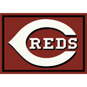 Cincinnati Reds 4x6 Spirit Rug