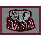 University Of Alabama Spirit Rug