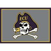 Eastern Carolina University 4x6 Spirit Rug