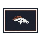 Denver Broncos 4'x6' Spirit Rug