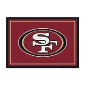 San Francisco 49ers 4'x6' Spirit Rug