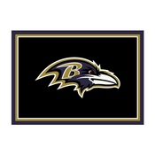 Baltimore Ravens 4'x6' Spirit Rug