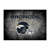 Denver Broncos 4'x6' Distressed Rug