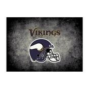 Minnesota Vikings 4'x6' Distressed Rug