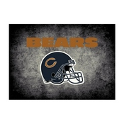 Chicago Bears 4'x6' Distressed Rug