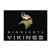 Minnesota Vikings 4 ft. x6 ft. Chrome Rug