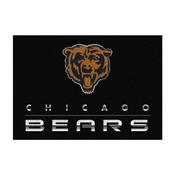 Chicago Bears 4'x6' Chrome Rug