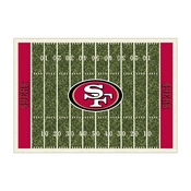 San Francisco 49ers 6'x8' Homefield Rug