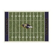 Baltimore Ravens 6'x8' Homefield Rug