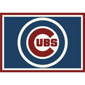 Chicago Cubs 6x8 Spirit Rug