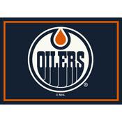 Edmonton Oilers 6X8 Spirit Rug