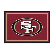 San Francisco 49ers 6'x8' Spirit Rug