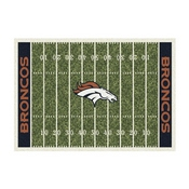 Denver Broncos 8'x11' Homefield Rug