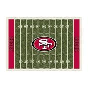 San Francisco 49ers 8'x11' Homefield Rug