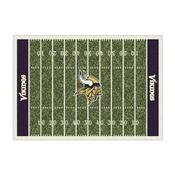 Minnesota Vikings 8'x11' Homefield Rug