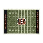 Cincinnati Bengals 8'x11' Homefield Rug