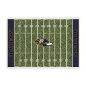 Baltimore Ravens 8'x11' Homefield Rug