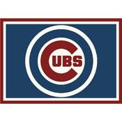 Chicago Cubs 8x11 Spirit Rug
