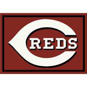 Cincinnati Reds 8x11 Spirit Rug