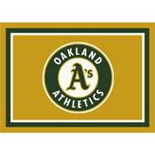 Oakland Athletics 8x11 Spirit Rug