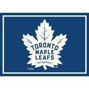Toronto Maple Leafs 8X11 Spirit Rug