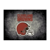 Cleveland Browns 8'x11' Distressed Rug