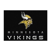 Minnesota Vikings 8'x11' Chrome Rug