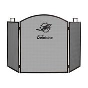 MIAMI DOLPHINS FIREPLACE SCREEN