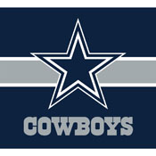 DALLAS COWBOYS SINGLE GARAGE DOOR COVER