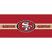 SAN FRANCISCO 49ERS DOUBLE GARAGE DOOR COVER