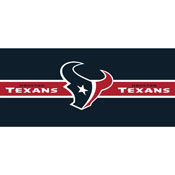 HOUSTON TEXANS DOUBLE GARAGE DOOR COVER