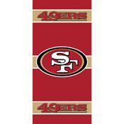 SAN FRANCISCO 49ERS FRONT DOOR COVER