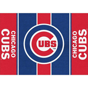 CHICAGO CUBS 8X11 VICTORY RUG