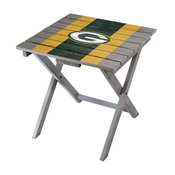 GREEN BAY PACKERS FOLDING ADIRONDACK TABLE