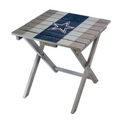 DALLAS COWBOYS FOLDING ADIRONDACK TABLE