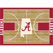 University Of Alabama Courtside Rug