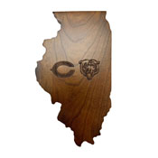 Chicago Bears Wooden Magnetic Keyholder
